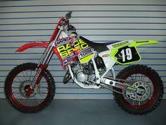 Team Race Spec Bridgestone Honda CR 125 1994 Vintage Super Evo MX Motocross Clas
