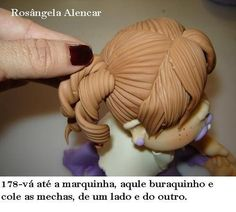 How to Make a Doll hair
