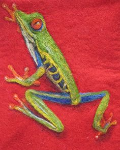 Found on Forever Felting blog. This lady is a genius with felt. I'm a little jealous.