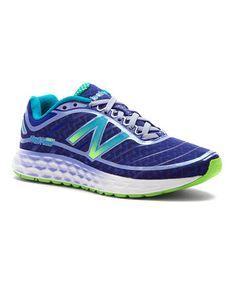 Look what I found on #zulily! Purple & Lime Green 980v2 Running Shoe - Women #zulilyfinds