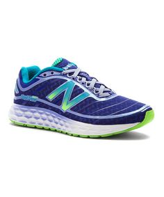 Look what I found on #zulily! Purple & Lime Green 980v2 Running Shoe - Women #zulilyfinds