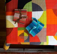 that quilting!