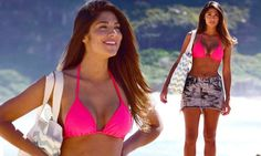Pia Miller wears skimpy bikini on Home And Away with co-star...