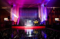 Black LED Dance Floors fit for all your best Thriller and Monster Mash moves!