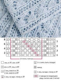 Stunning Fan Column Lace Knitting Stitch.
