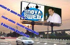 PORTAL RÁDIO E TV NOVA WEB : CESAR SANTOS - LOCUTOR DA NOVAWEB TV