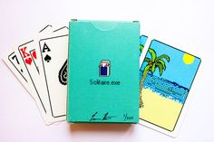 A Real Deck Of Cards That Immortalizes Windows 3.0 Solitaire