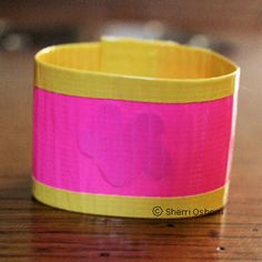 How to Make a Textured Duct Tape Bracelet