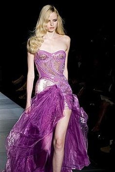 atelier versace couture f/w 12 show
