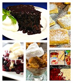 Skip the oven and make dessert in your slow cooker!