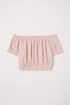 Off-the-shoulder Top - Antique rose - Ladies H M Outfits, Crop Top Outfits, Cute Girl Outfits, Summer Outfits Women, Cute Casual Outfits, Outfits For Teens, Spring Outfits, Crop Tops For Kids, Cute Crop Tops