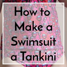 There are many reasons why you might be drawn to a tankini swimsuit, from not having to worry about fitting the length, to the ability to mix and match bottoms, to just plain liking the…
