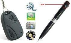 Win a Spy Camera Pen & Keychain this New Year 2014 [Giveaway] worldwide until 12/28/2013