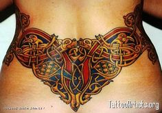 Celtic Waist Tattoo By: Erika Stanley 3rd Place Best Color, Inkslinger's Ball 2002 (out of 87 entries)