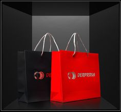 Derposa shoppers with Soft Touch original by Derprosa film