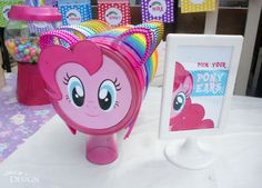 My Little Pony Party - Pony Ear Favors