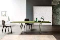 New Bonaldo #Table Gap by Alain Gilles simple complex #tabledesign