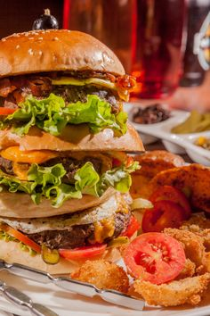 Tripple Ride Burger  #Porterhaus  #Foodshots #delicious #food  #cuisines #burger