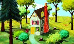 Making The Three Little Pigs app: Q with illustrator/animator Ed Bryan :: Blog :: Nosy Crow
