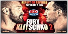 Fury v Klitschko 2 On BoxNation Will Be Available Via Box Office For Sky Customers -Tyson Fury's Heavyweight World Title rematch with the legendary Wladimir Klitschko will be made available via BoxNation Box Office to Sky customers for the first time.  The groundbreaking development will see this year's biggest fight, taking place on Saturday October 29th in Manchester, being ac...- http://www.saddoboxing.com/47938-fury-vs-klitschko-2.html