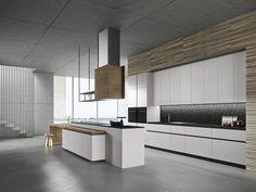 LOOK Cozinha com ilha Coleção SISTEMA by Snaidero design Michele Marcon
