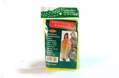 Emergency Poncho- FAMILY STOREHOUSE- These ponchos are made of brightly colored P.V.C. for high visibility and safety. They store flat and take up very little storage space. One Size fits all.