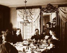 Dining room 1880's by gaswizard, via Flickr