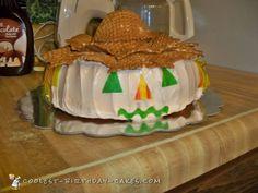 Cutest Fall Scarecrow Cake... Coolest Birthday Cake Ideas