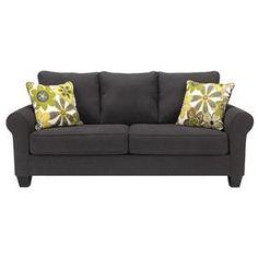 Benchcraft Nolana - Charcoal Sofa - Item Number: 1650138