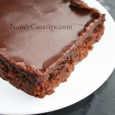 The Best (Texas) Chocolate Sheet Cake | NancyCreative
