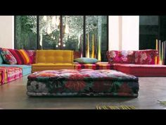 Roche bobois mah jong sofa expensive furniture pinterest modular sofa - Canape composable mah jong ...