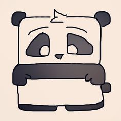 Be a Productive Panda! Get Stuff Done!  by theproductivitypanda