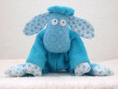Handmade  stuffed toy  a child's best friend soft  baby by Snabbel, €30.00