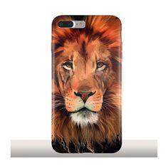 The Lion, par Kajenna Art, Coque iPhone 7 Plus Silicone - Kinghousse