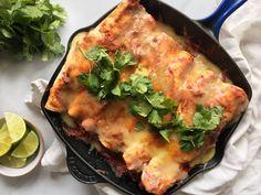 Cheesy Baked Chicken Enchiladas  - Delish.com