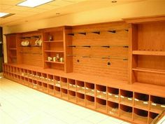 Use idea for saddle- tack ...storage for helmets under .. Lesson/camp tack room only