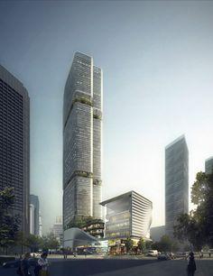cool Gmond International Building | Aedas Check more at http://www.arch2o.com/gmond-international-building-aedas/