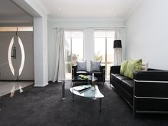 Beautiful Living Room Ideas. Dark Grey CarpetBlack ...
