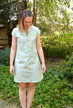 Cotton + Steel Lawn Dress - A Happy Stitch - from Marigold Dress by Blank Slate Patterns