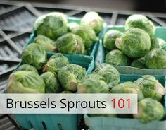 How to Love Brussels Sprouts
