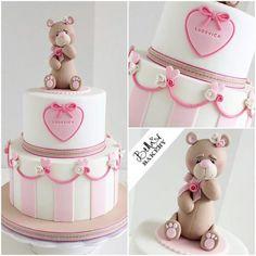 Shower baby cake girl