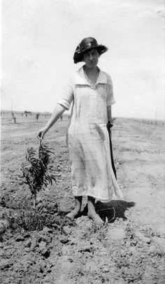 Title: A woman and a small tree Creator/Contributor: Selover, Charles A. Date: 1939 Small Trees, Panama Hat, 1930s, Woman, Fashion, Moda, Fashion Styles, Women, Fashion Illustrations