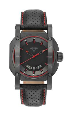 Sport Up To Date. Dial: Shaped with apertures revealing the movement, black colour. Applied second time zone scale moulding and sector with logo at 12 o'clock, with black coating. Large date at 12 o'clock with applied frame. Day/night indicator uses 24-hour AM/PM system.