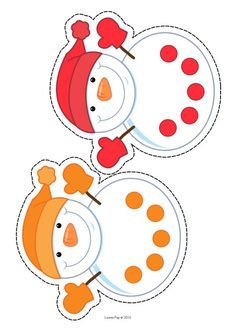 Page 1 of 2 Snowman Christmas Decorations, Christmas Themes, Holiday Crafts, Circle Time Activities, Winter Activities, Infant Activities, Preschool Activities, Winter Thema, Early Childhood Activities