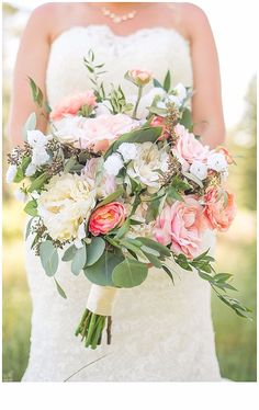 Sometimes Silks are a-ok! Check out this gorgeous silk bouquet of Jill's by Bella Calla Denver Florist! Planning by Sweetlypaired.  See more here: http://www.sweetlypaired.com/jill-and-jeremy---backyard-wedding-morrison-colorado.html
