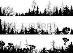 Tree shilouette sleeve