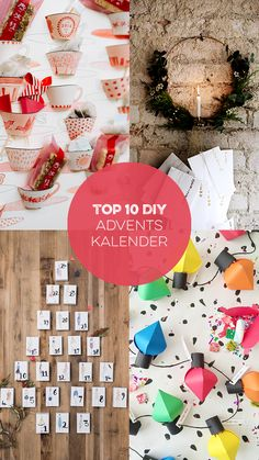 Top 10 Adventskalender Ideen zum Selbermachen I sisterMAG DIY Adventskalender Special | #sisterMAG21