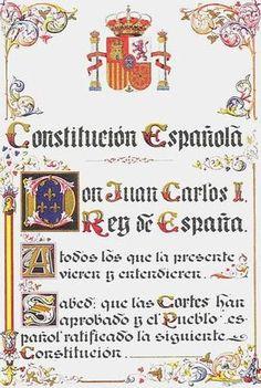 La Constitución española de 1978 es la norma suprema del ordenamiento jurídico español, a la que están sujetos los poderes públicos y los ciudadanos de España, en vigor desde el 29 de diciembre de 1978. Carta Magna. Constitución. Norma Jurídica Suprema