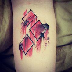 My Harley Quinn! Harley Quinn, Tattoo Ideas, Triangle, Tattoos, Tatuajes, Tattoo, Cuff Tattoo, Flesh Tattoo