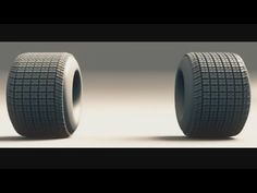 Create a Tire - Blender Tutorial - YouTube